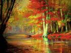 JESIENNY PARK  III  * jesień obraz*